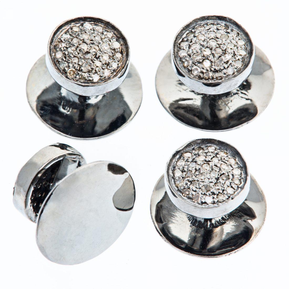 1538dstud tuxedo diamond stud set apunto jewelryapunto for Stud sets tuxedo shirts